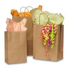 Gift Packaging Paper Bags