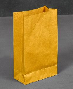 Non Laminated Kraft Paper Grocery Bags