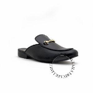 Black Color Genuine Leather Shoes
