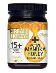 15 Plus Organic Active Manuka Honey