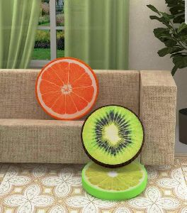 3D shaped fruit pillow