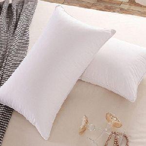 White Plain Polyester Ball Fiber Vacuum Pillow