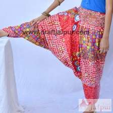 Buggy Yoga Harem Pants Men And Women Printed Cotton Trousers-craft Jaipur