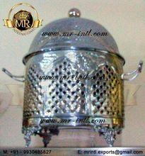 Silver Plated Buffet Food Warmer