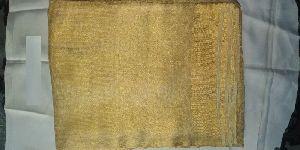 Golden Tissue Saree