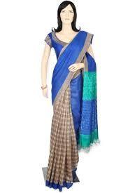 Tussar Printed Saree