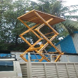 Hydraulic Scissor Lift in Tamil Nadu - Manufacturers and Suppliers India