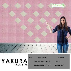 Yakura Self Adhesive Wood Block Tile