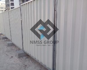 discontinuous fencing panels