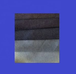 High Quality DENIM FABRIC of Cotton Poly Spandex, 8.75 ozs Dark INDIGO Stretch Twill