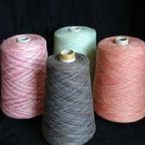 Organic Melange Cotton Yarn