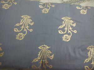 Golden Printed Cotton Fabric