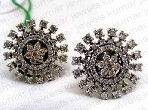 Alluring Stone Tops Earrings