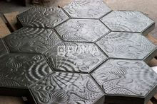 Hexagon Pvc Rubber Paver Mold