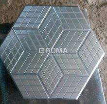 Hexogone Pvc Rubber Paver Mould Mold