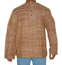 Collar Short Size Long Sleeves Kurta For Men