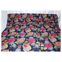 Kantha Quilt Cotton Kantha Bedspread