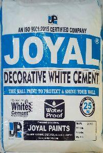 decorative white cement paint
