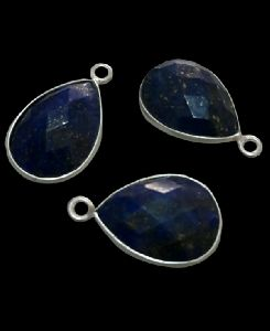 Sterling Silver Lapis Drop CHARM