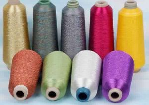 Lacquered Films And Metallic Yarn