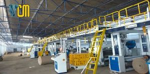 Automatic 05 Ply Corrugated Board Making Plant - Premium Model