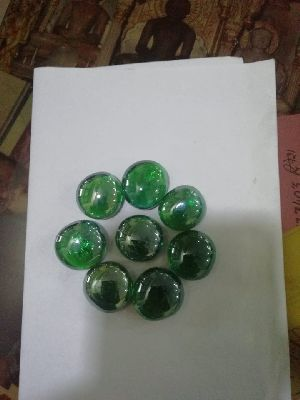Transparent Round Shaped Glass Pebbles