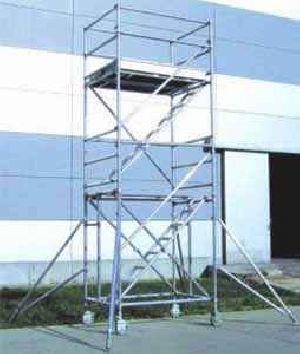 ALUMINUM STAIRWAY TOWER