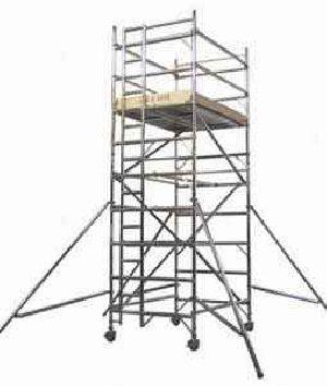 Double Width Aluminum Scaffold Tower