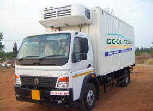 Mild Steel Refrigerated Truck