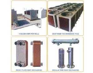 Chillers & Heat Pumps