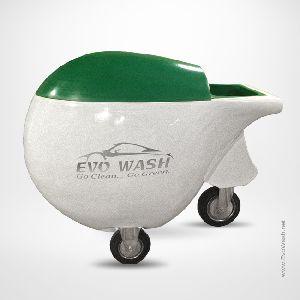 Mobile Waterless Car Washing Trolley