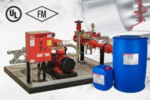 Foam Based Extinguishing System
