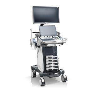 Color Doppler Trolley Based Ultrasound Scanner