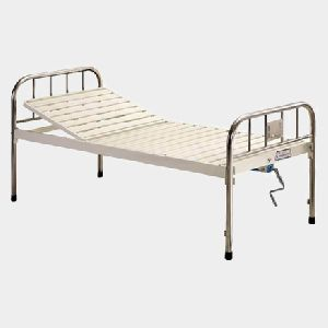 Epoxy Coated Semi Fowler Bed, Hospital Furniture