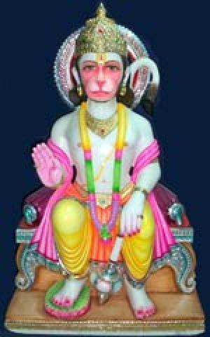 Hanuman Marble God Statue