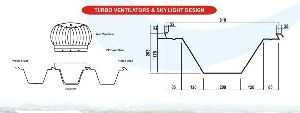 Turbo Ventilator & Skylight Designing Services
