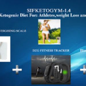 Blood Ketone Meter, Heart Rate Monitor And Body Weighing Scale For Ketogenic Diet Sifketogym-1.4