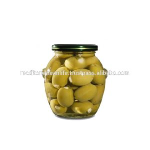 Fresh Green olives stuffed with lemon /370 gm