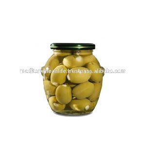 WHOLE FRESH GREEN OLIVES /370gm jar