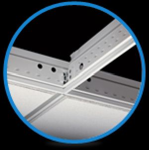 ACOUSTIC AND CEILING SUSPENSION SYSTEM
