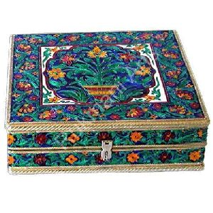 Meenakari Bangle Box