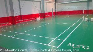 Pvc Badminton Flooring