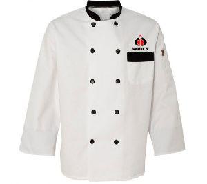 White Custom Chef Coat