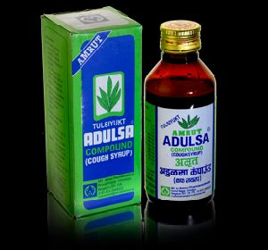 Adulsa Compound - Cough Syrup