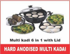 Hard Anodize Multi Kadai