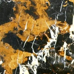Marbles Black & Gold