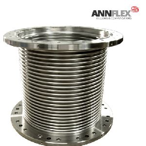 Simple axial expansion bellow