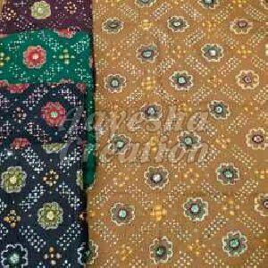 Bandhani Suits Unstitched Dress Materials