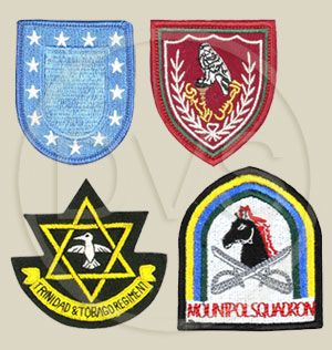 Machine Embroidered Badges