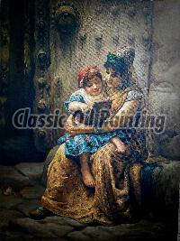 Reproduction of orientalist painting